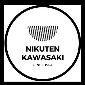 宮崎にくてんの老舗 かわさきのロゴ